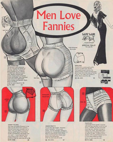 Men Love Fannies Art Print