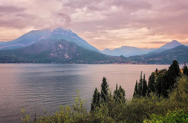 Photograph - Menaggio On Lake Como Italy by Joan Carroll