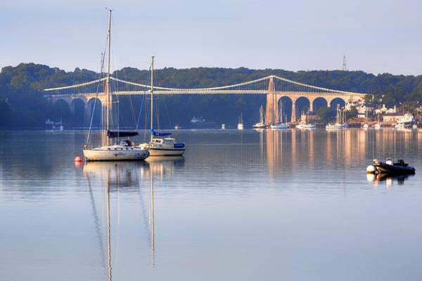 Wall Art - Photograph - Menai Bridge - Wales by Joana Kruse