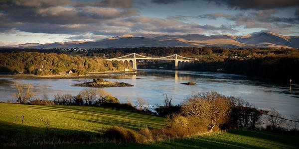 Photograph - Menai Strait From Anglesey by Peter OReilly