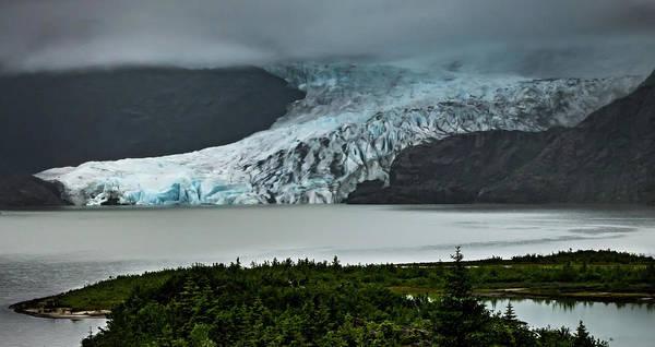 Photograph - Mendenhall Glacier by Ed Clark