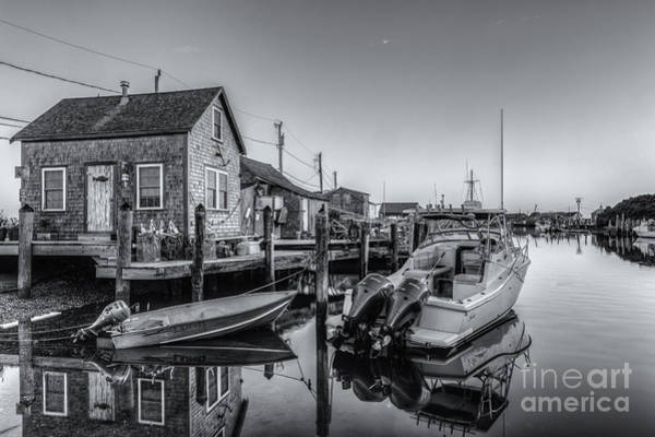 Wall Art - Photograph - Menemsha Basin Morning Twilight II by Clarence Holmes