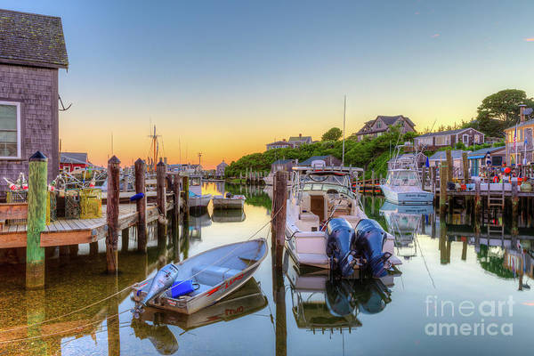 Photograph - Menemsha Basin Morning Twilight IIi by Clarence Holmes