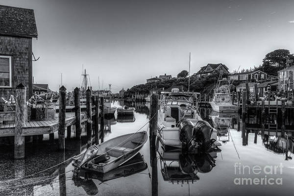 Wall Art - Photograph - Menemsha Basin Morning Twilight Iv by Clarence Holmes