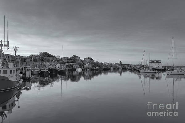 Wall Art - Photograph - Menemsha Basin Morning Twilight Vi by Clarence Holmes