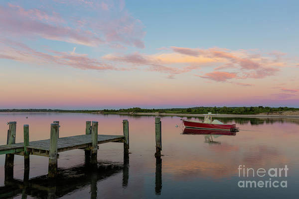 Photograph - Menemsha Creek At Dawn I by Clarence Holmes