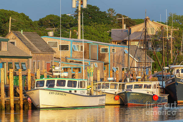 Photograph - Menemsha Fishing Boats I by Clarence Holmes