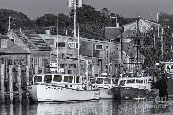Photograph - Menemsha Fishing Boats II by Clarence Holmes