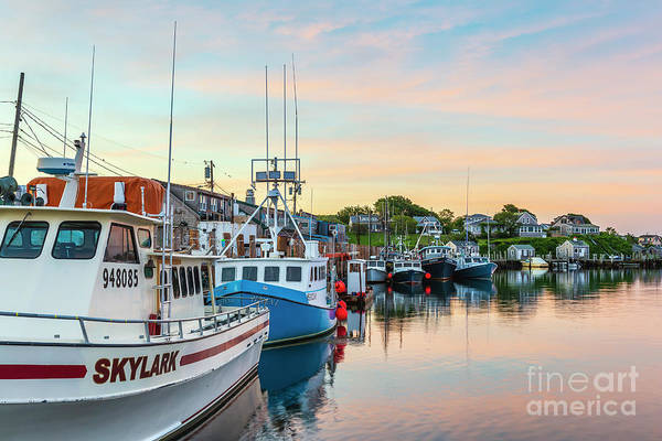 Photograph - Menemsha Fishing Boats IIi by Clarence Holmes