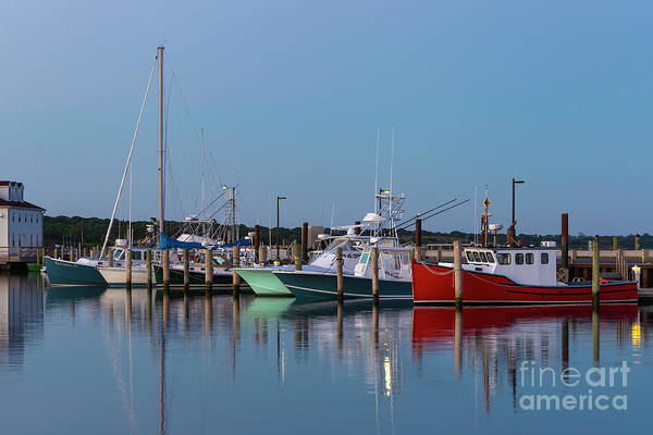 Photograph - Menemsha Fishing Boats Vii by Clarence Holmes