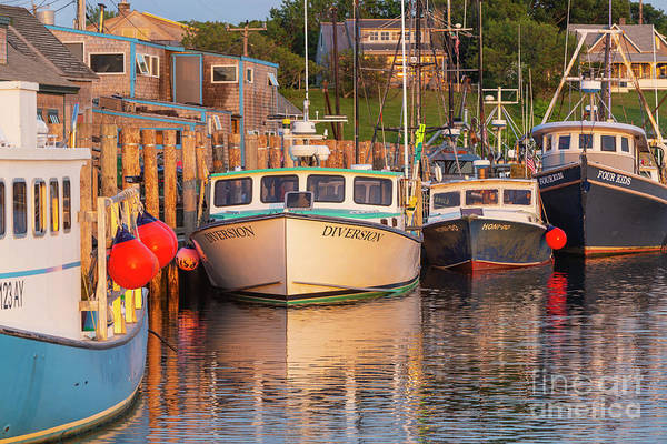 Wall Art - Photograph - Menemsha Fishing Boats Xi by Clarence Holmes