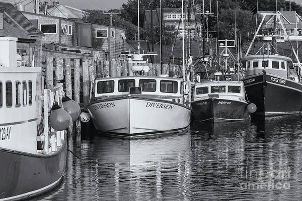 Photograph - Menemsha Fishing Boats Xii by Clarence Holmes