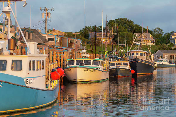 Wall Art - Photograph - Menemsha Fishing Boats Xiii by Clarence Holmes