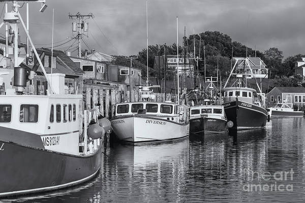 Wall Art - Photograph - Menemsha Fishing Boats Xiv by Clarence Holmes