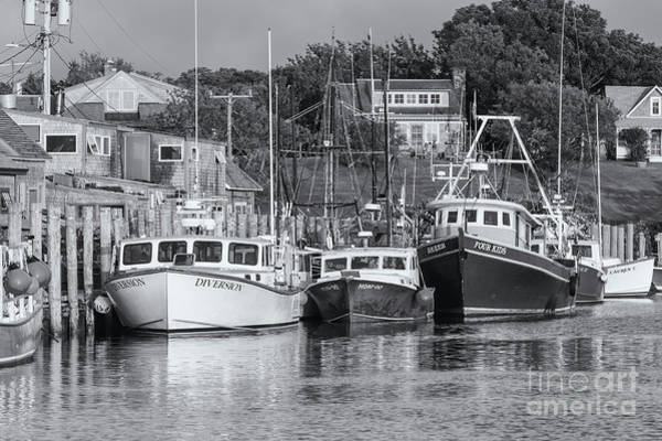 Photograph - Menemsha Fishing Boats Xvi by Clarence Holmes