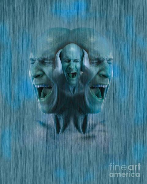 Anguish Photograph - Mental Illness by George Mattei