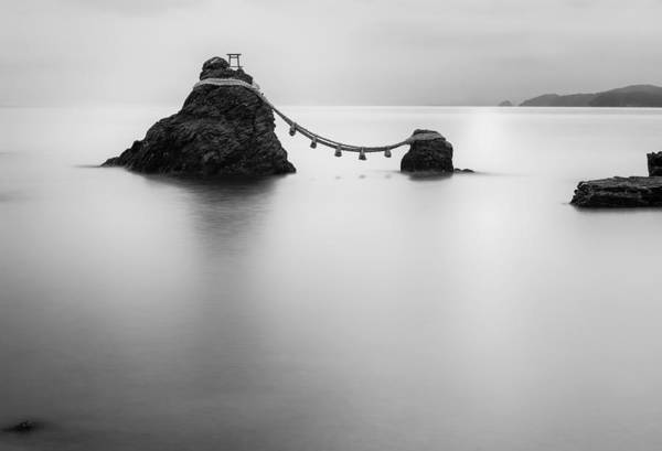 Photograph - Meoto Iwa by Hayato Matsumoto