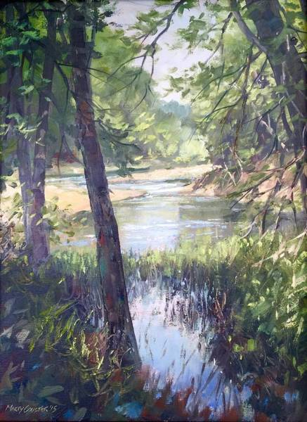 Painting - Meramec Shade by Marty Coulter