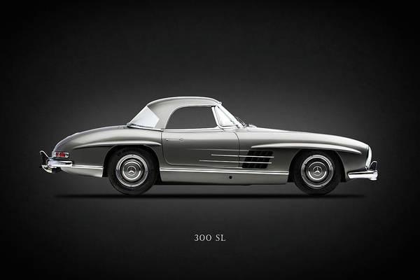 Mercedes-benz 300 Sl Wall Art - Photograph - Merc 300 Sl 1961 by Mark Rogan