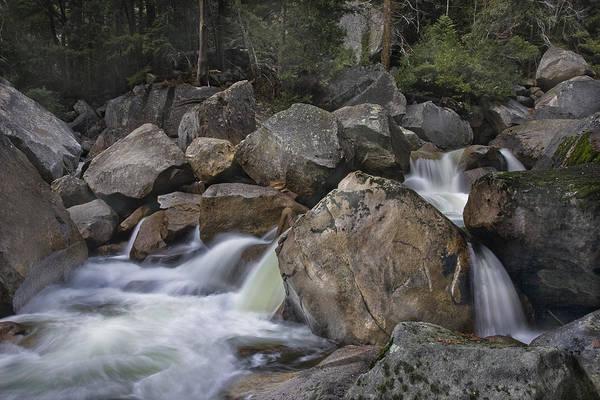 Wall Art - Photograph - Merced River Below Vernal Falls by Jim Dohms
