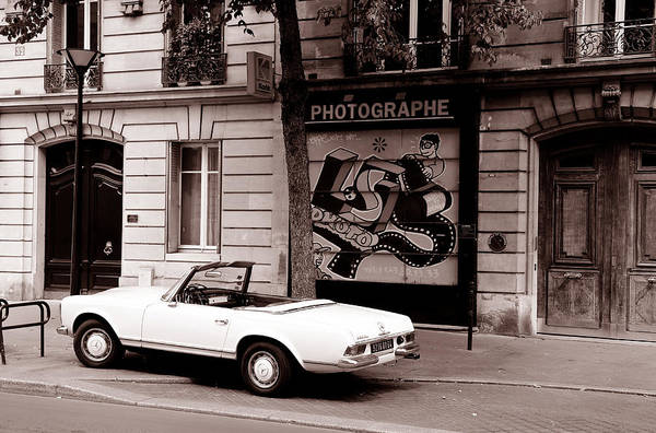 Photograph - Mercedes 280 Sl C by Andrew Fare
