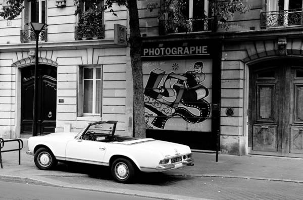 Photograph - Mercedes 280 Sl B by Andrew Fare