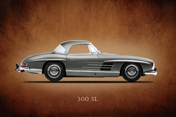 Mercedes-benz 300 Sl Wall Art - Photograph - Mercedes 300 Sl by Mark Rogan
