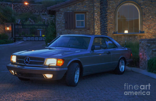 Photograph - Mercedes 560sec by Gunter Nezhoda