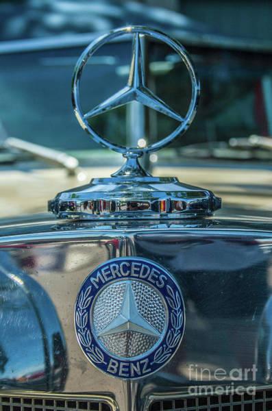 Photograph - Mercedes Benz 2 by Tony Baca