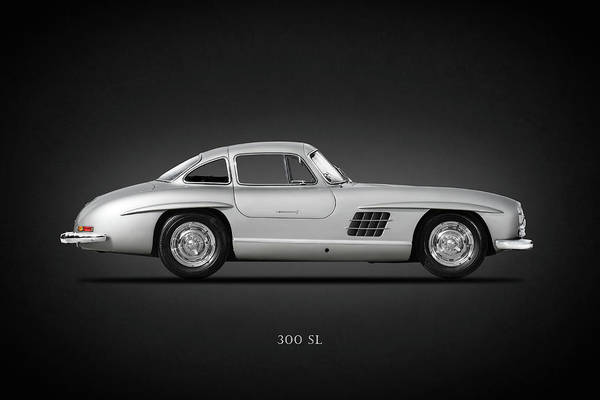 Mercedes-benz 300 Sl Wall Art - Photograph - Mercedes Benz 300 Sl by Mark Rogan