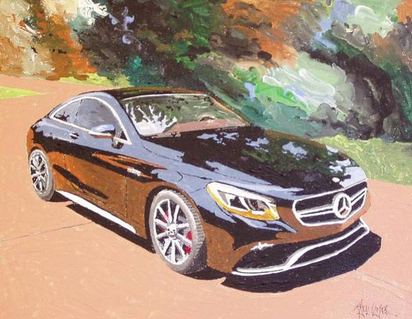 Wall Art - Painting - Mercedes Benz Amg 2015 by Paul Guyer