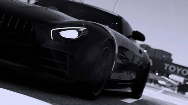 Photograph - Mercedes-benz Amg Gtr V8 - Headlights by Andrea Mazzocchetti