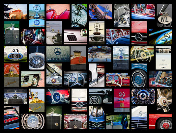 Photograph - Mercedes-benz Art -01 by Jill Reger