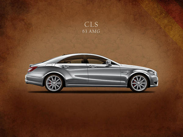 Mercedes Photograph - Merc Cls 63 Amg by Mark Rogan