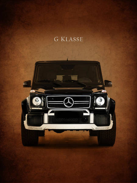 Mercedes Photograph - Mercedes Benz G Klasse by Mark Rogan