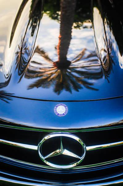 Wall Art - Photograph - Mercedes-benz Grille Emblem -0180c by Jill Reger