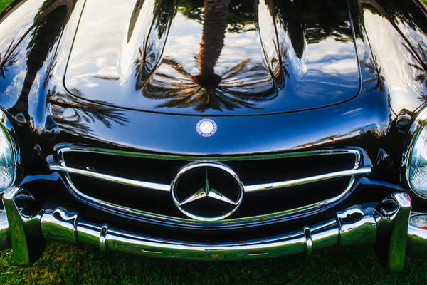 Wall Art - Photograph - Mercedes-benz Grille Emblem -0185c by Jill Reger