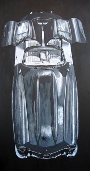 Painting - Mercedes Benz Gullwing by Richard Le Page