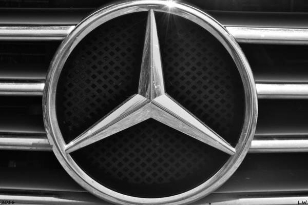 Wall Art - Photograph - Mercedes Benz by Lisa Wooten