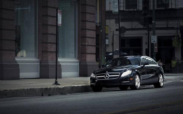 City Digital Art - Mercedes-benz by Maye Loeser