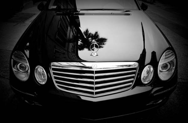 Mercedes Photograph - Mercedes Benz Palm Reflection by Dustin K Ryan