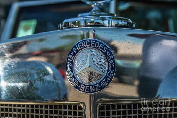 Photograph - Mercedes Benz by Tony Baca