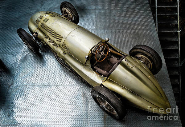 Photograph - Mercedes Benz W154 by M G Whittingham