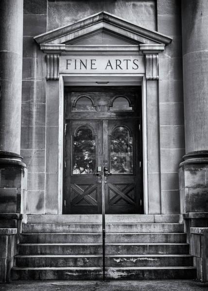 Wall Art - Photograph - Mercer University - Fine Arts Door #3 by Stephen Stookey