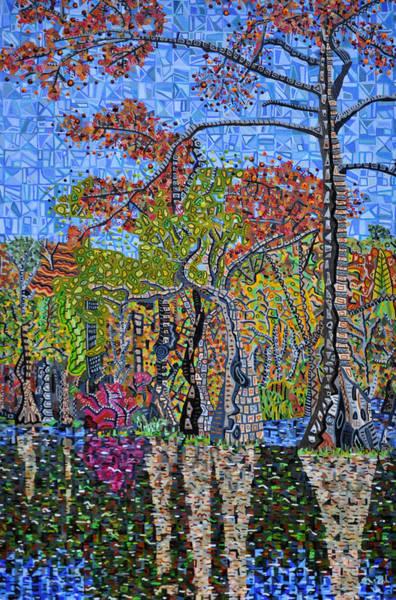 Merchant Painting - Merchants Millpond State Park 1 by Micah Mullen