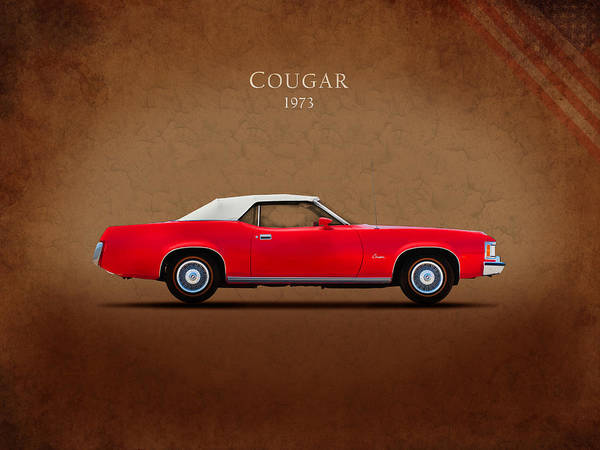 Cougar Photograph - Mercury Cougar 1973 by Mark Rogan
