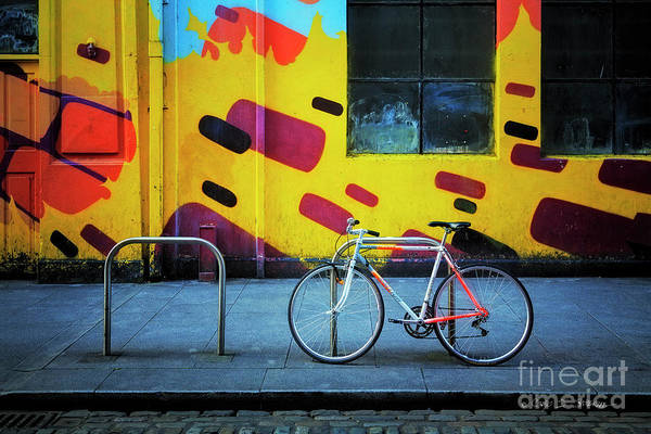 Photograph - Mercury Raleigh Bicycle by Craig J Satterlee