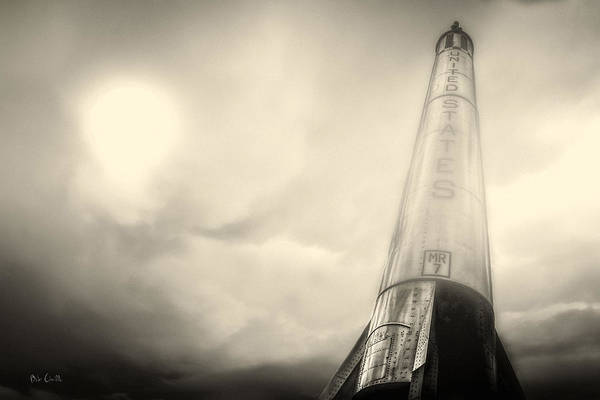 Photograph - Mercury-redstone Launch Vehicle 7 by Bob Orsillo