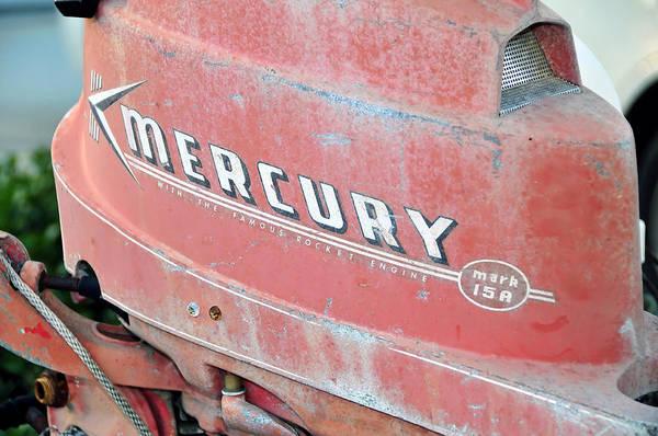 Outboard Engine Photograph - Mercury Rocket Engine by David Lee Thompson