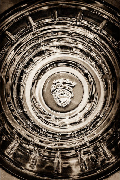 Photograph - Mercury Wheel Emblem-0306s by Jill Reger